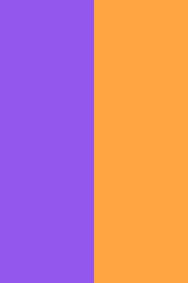 resolution Navy Purple and Neon Carrot solid two color background 640x960
