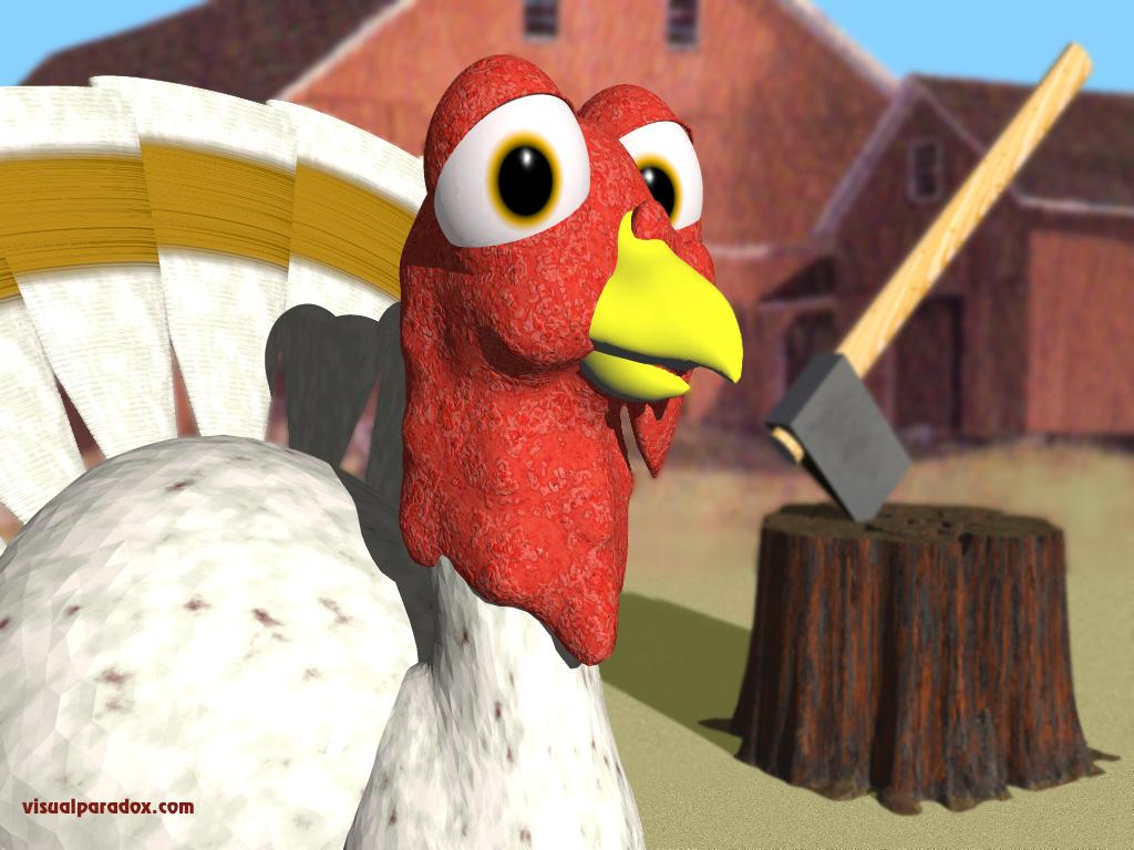 farm thanksgiving slaughter doomed cartoon holiday 3d wallpaper 1024x768