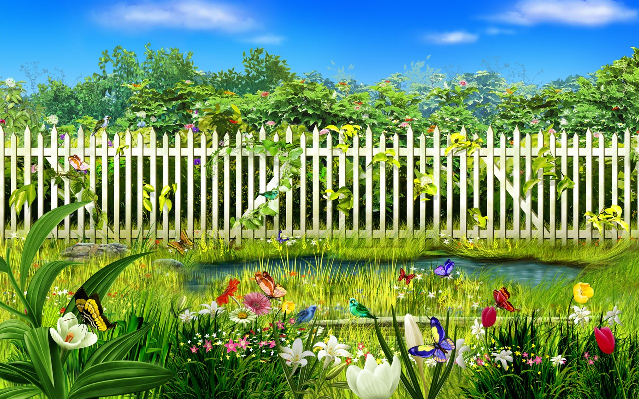 Google images free wallpaper gardens wallpapersafari - Garden screensavers free ...