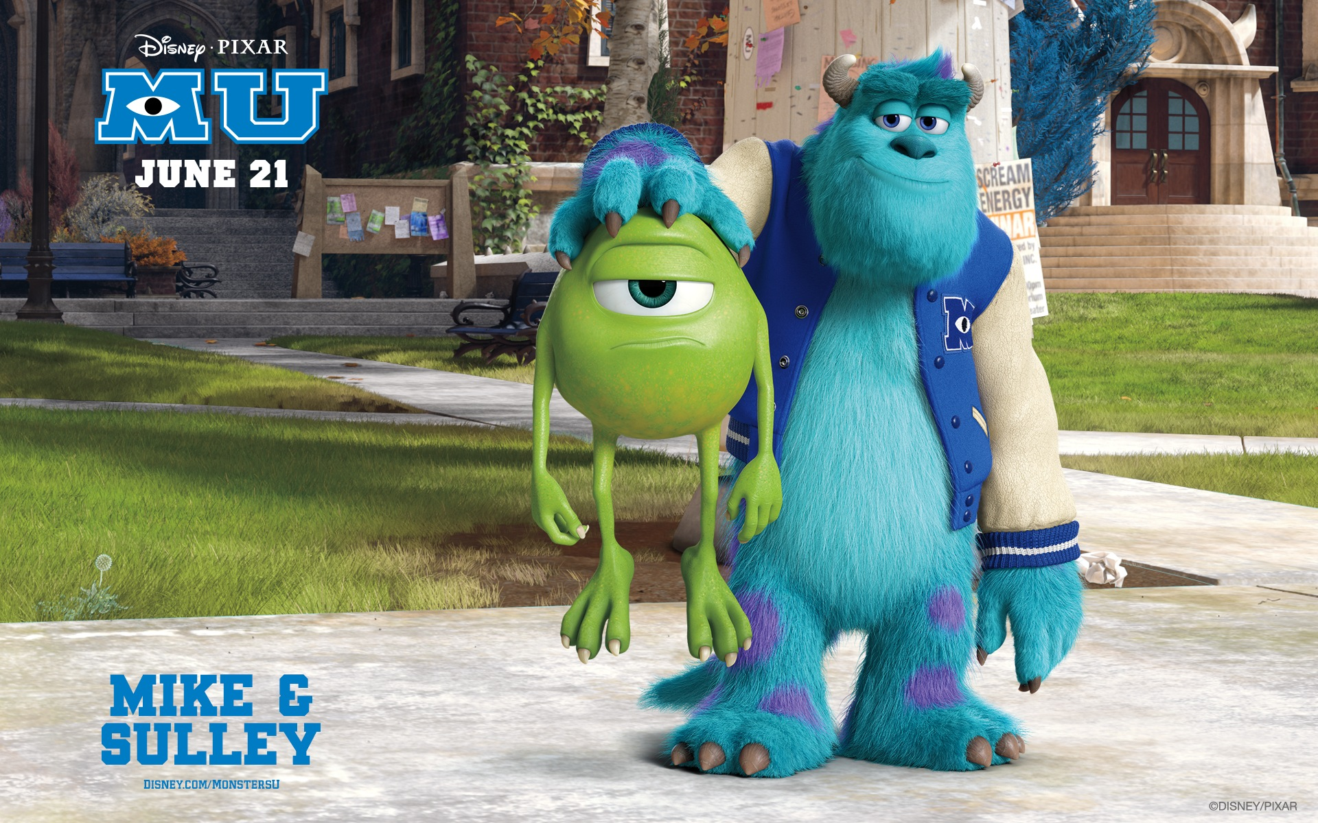Monsters University Official Wallpapers HD Wallpapers 1920x1200
