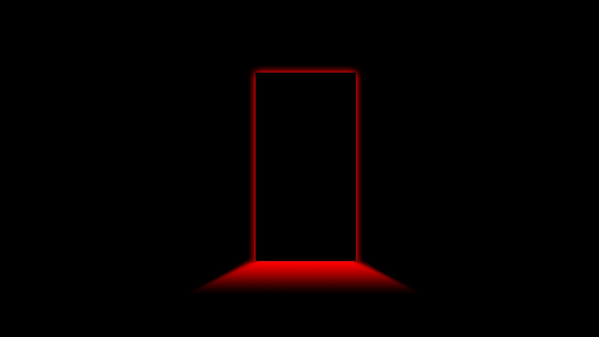 Door Light Shadow Black Red Wallpaper   MixHD wallpapers 1920x1080