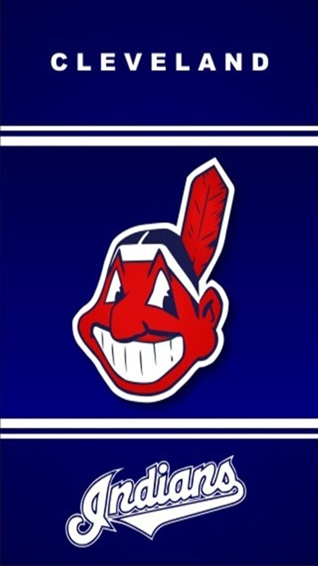 Cleveland Indians 2 Sports iPhone Wallpapers iPhone 5s4s3G 640x1136
