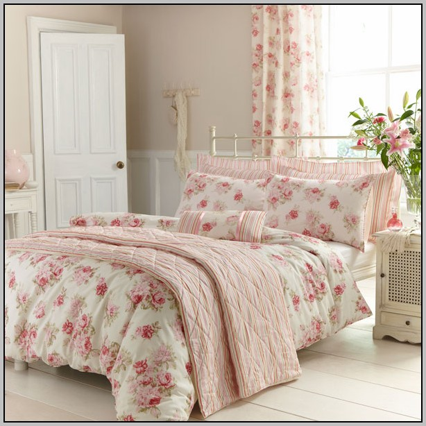 50+ Bedspreads with Matching Wallpaper on WallpaperSafari