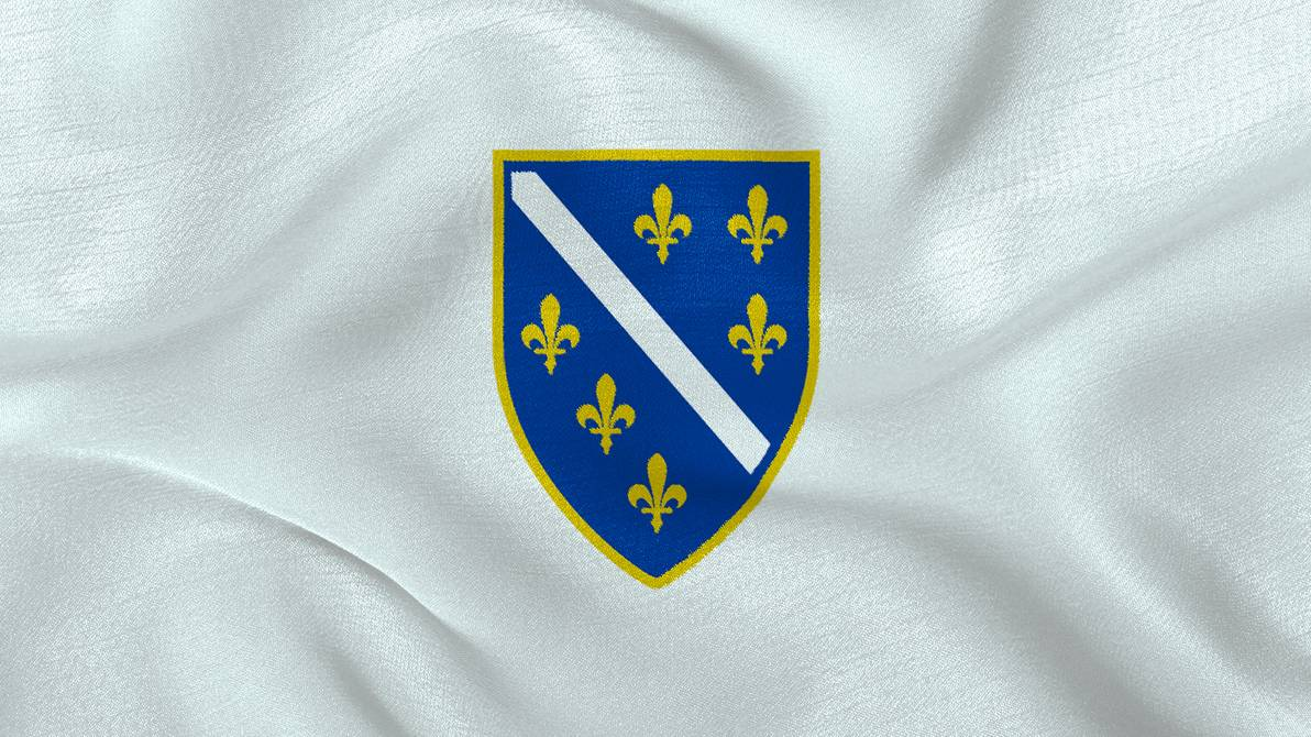 Republic of Bosnia and Herzegovina Flag Wallpaper by Edinev on 1192x670
