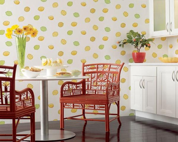 washable kitchen wallpaper 2015   Grasscloth Wallpaper 600x478