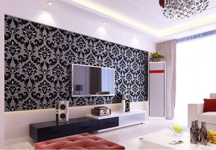 750x520px Wallpaper Dinding Ruang Tamu Wallpapersafari