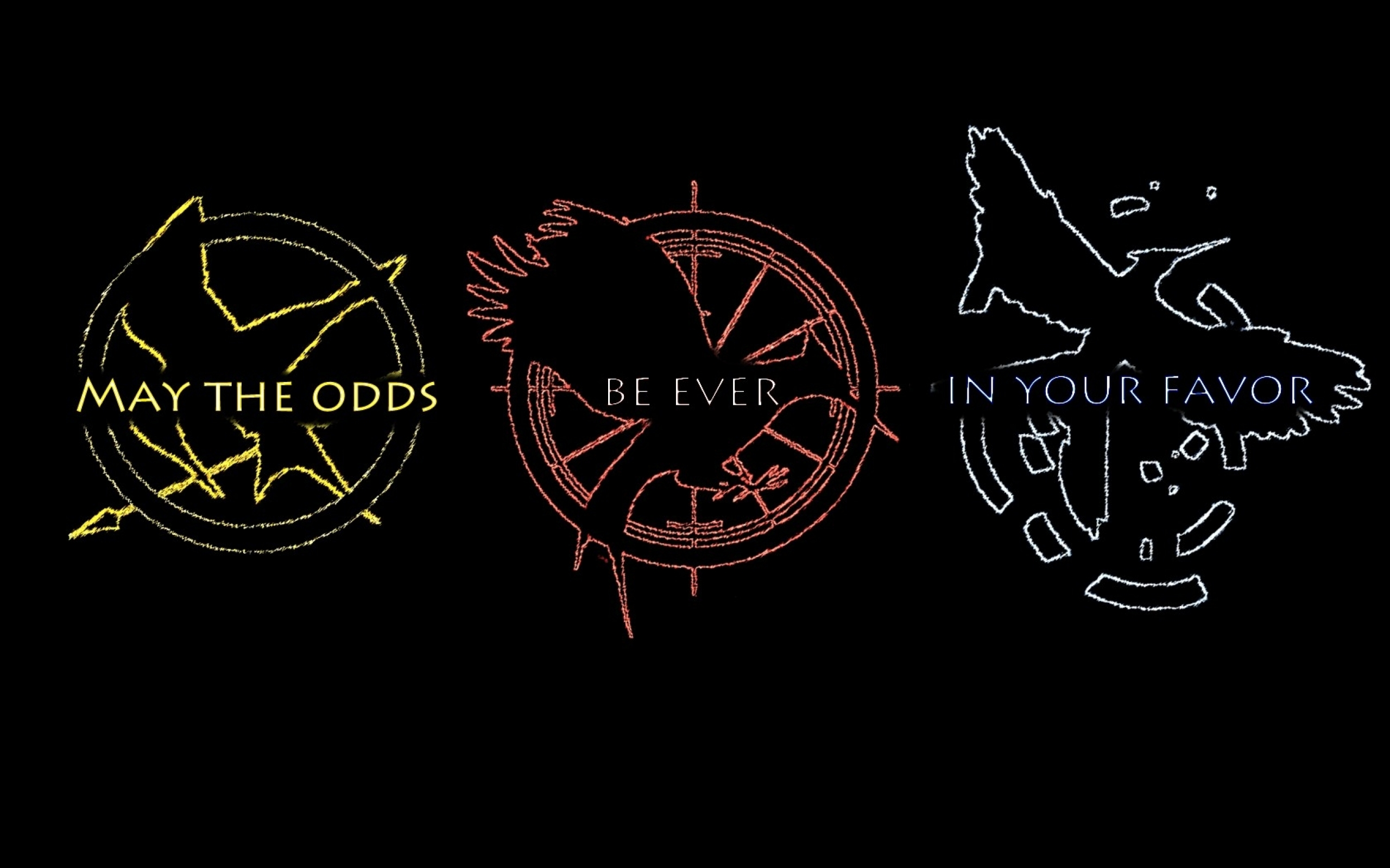 may odds the hunger games catching fire mockingjay 1680x1050 wallpaper 2560x1600