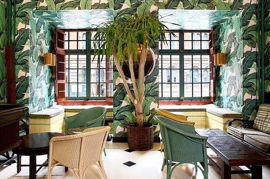 Martinique Banana Leaves Wallpaper Home Decor Pinterest 550x365