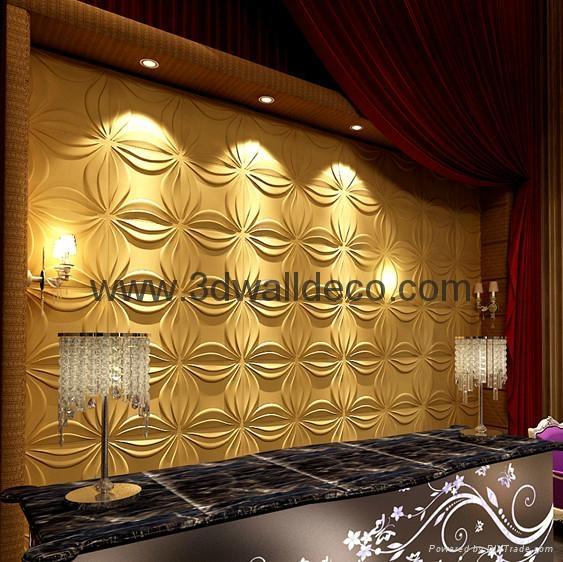 Made in China individual bamboo wall panel 563x562