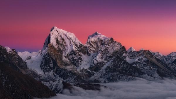 mountains nepal Wallpaper 600x337