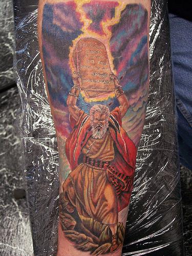 moses skinworx tattoo Flickr   Photo Sharing 375x500