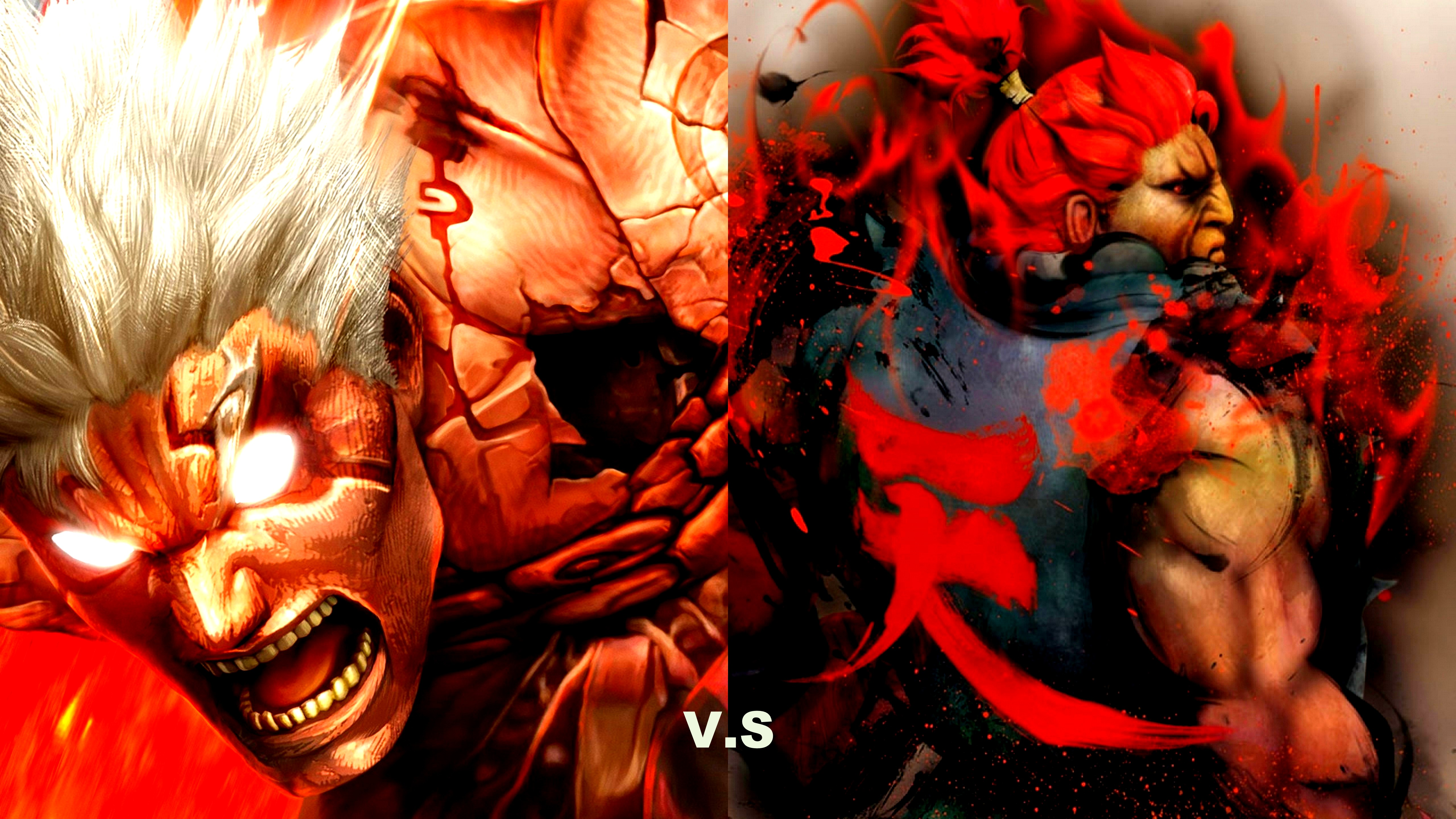 2 Asuras Wrath Street Fighter HD Wallpapers Background Images 5120x2880