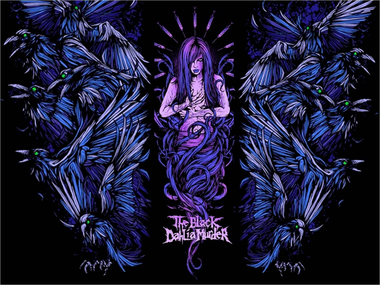 43 Black Dahlia Murder Wallpaper On Wallpapersafari