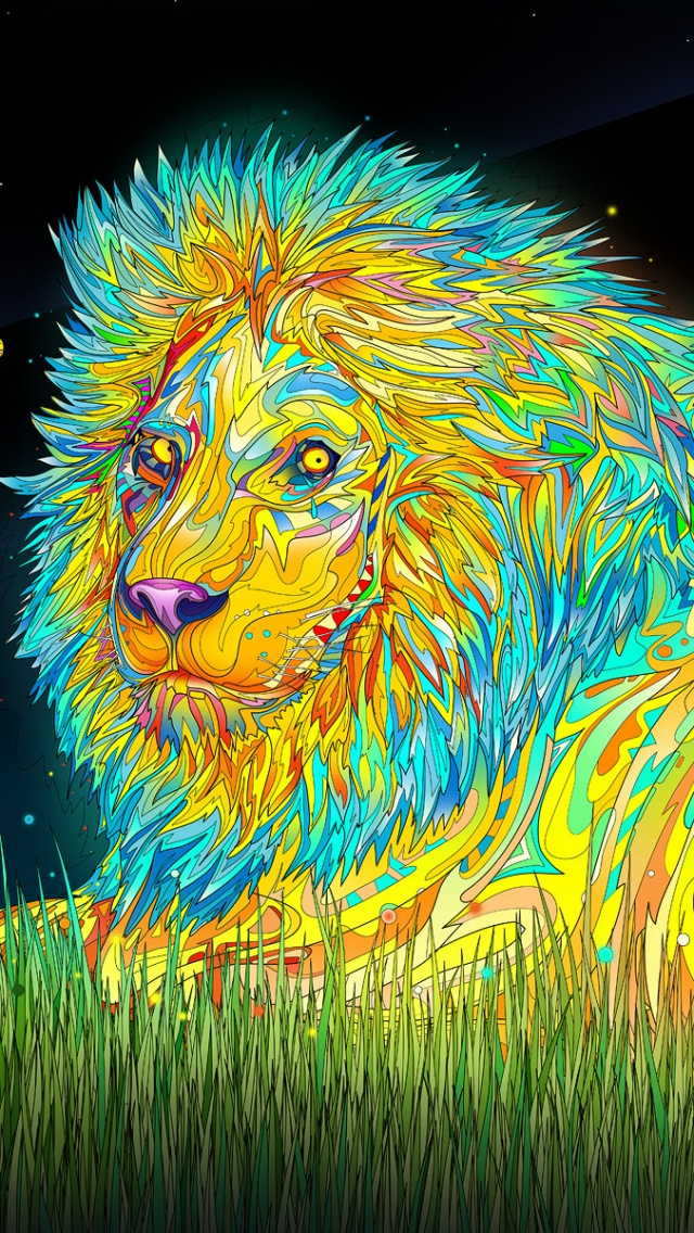 41+ Psychedelic Wallpapers for iPhone on WallpaperSafari