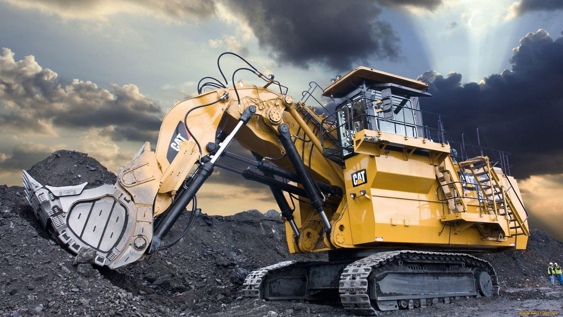 Caterpillar mining excavator Machinery Pinterest 1920x1080