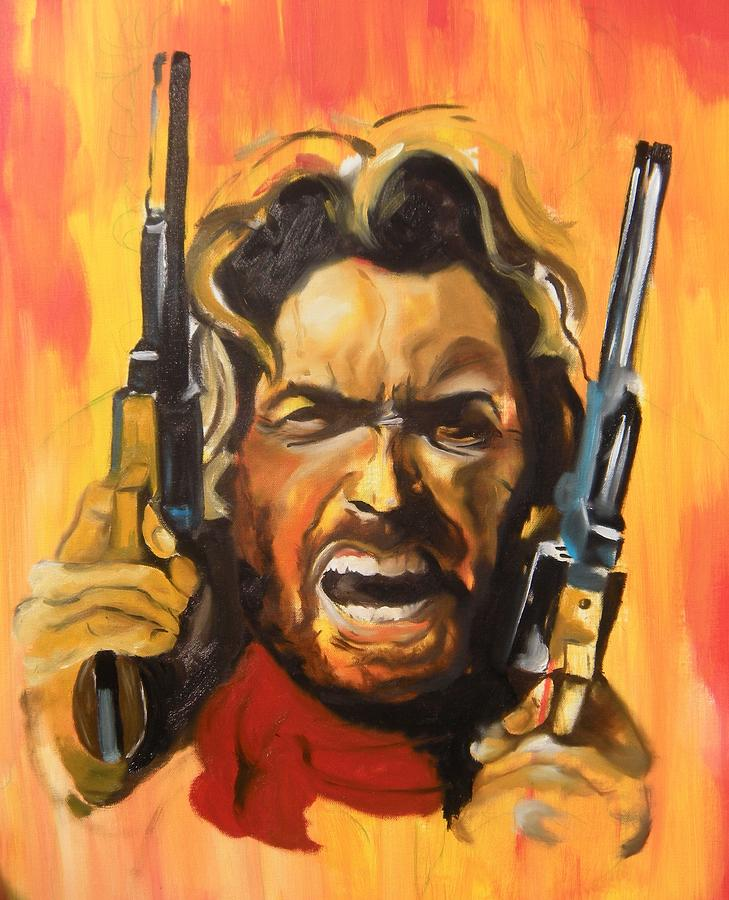 fineartamerica com the outlaw josey wales painting by matt burke 729x900