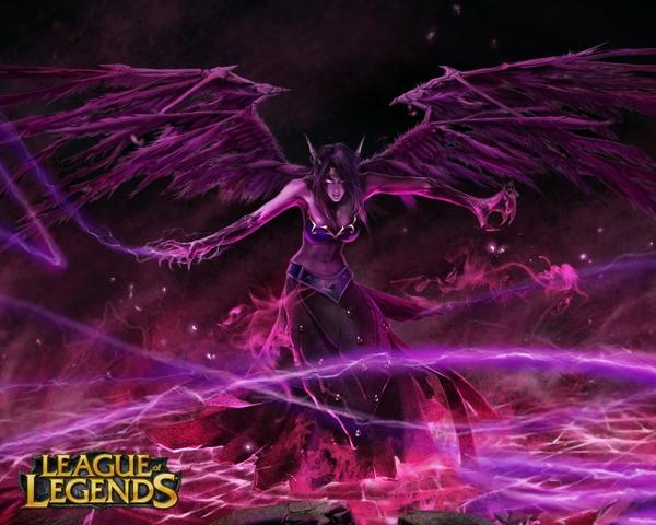 games league of legends morgana the fallen angel 1280x1024 wallpaper 600x480