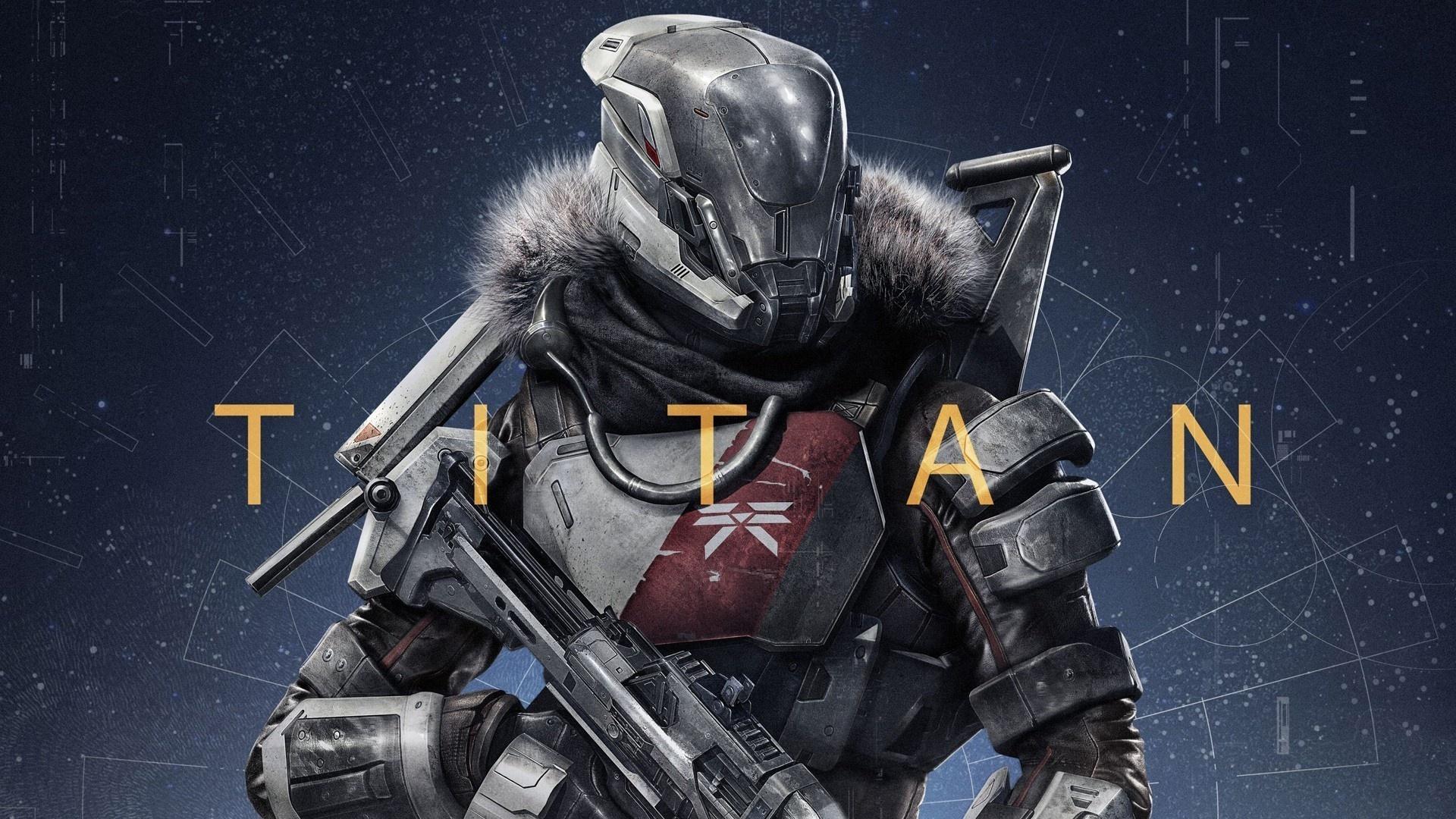 Titan in Destiny Game Wallpaper ImageBankbiz 1920x1080