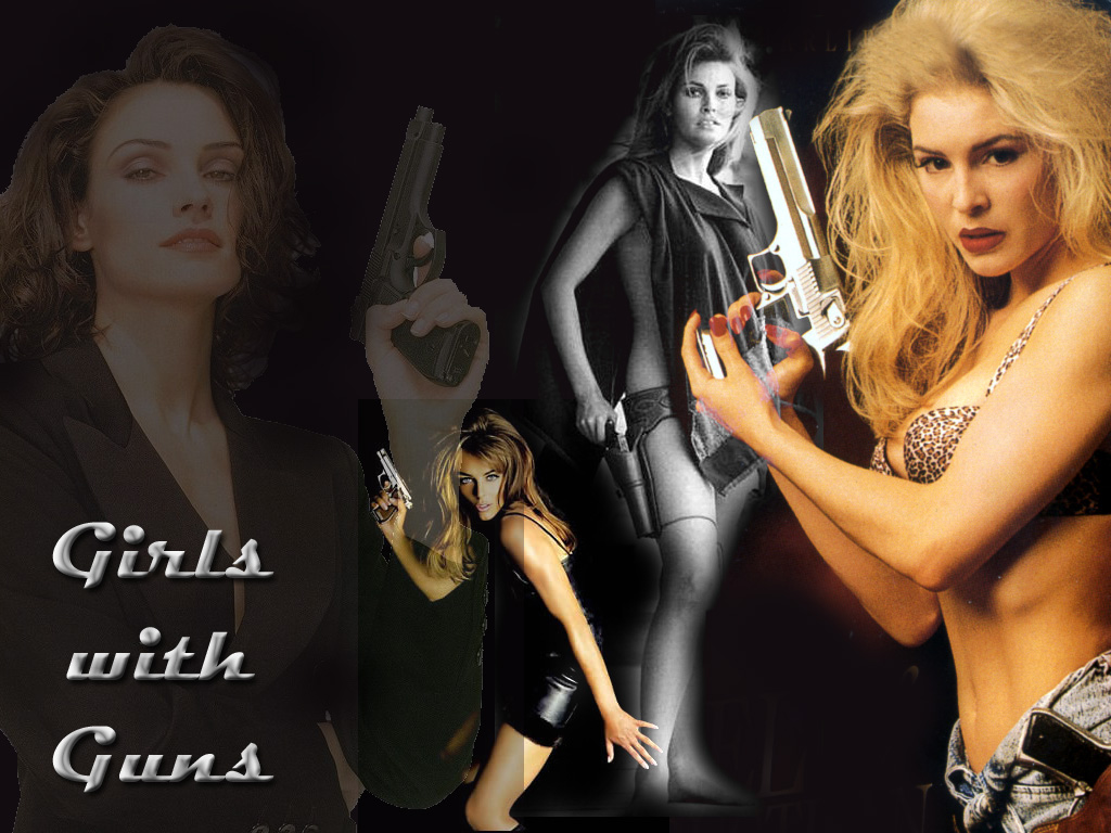 guns wallpaper girl with guns wallpaper girl with guns wallpaper 1024x768