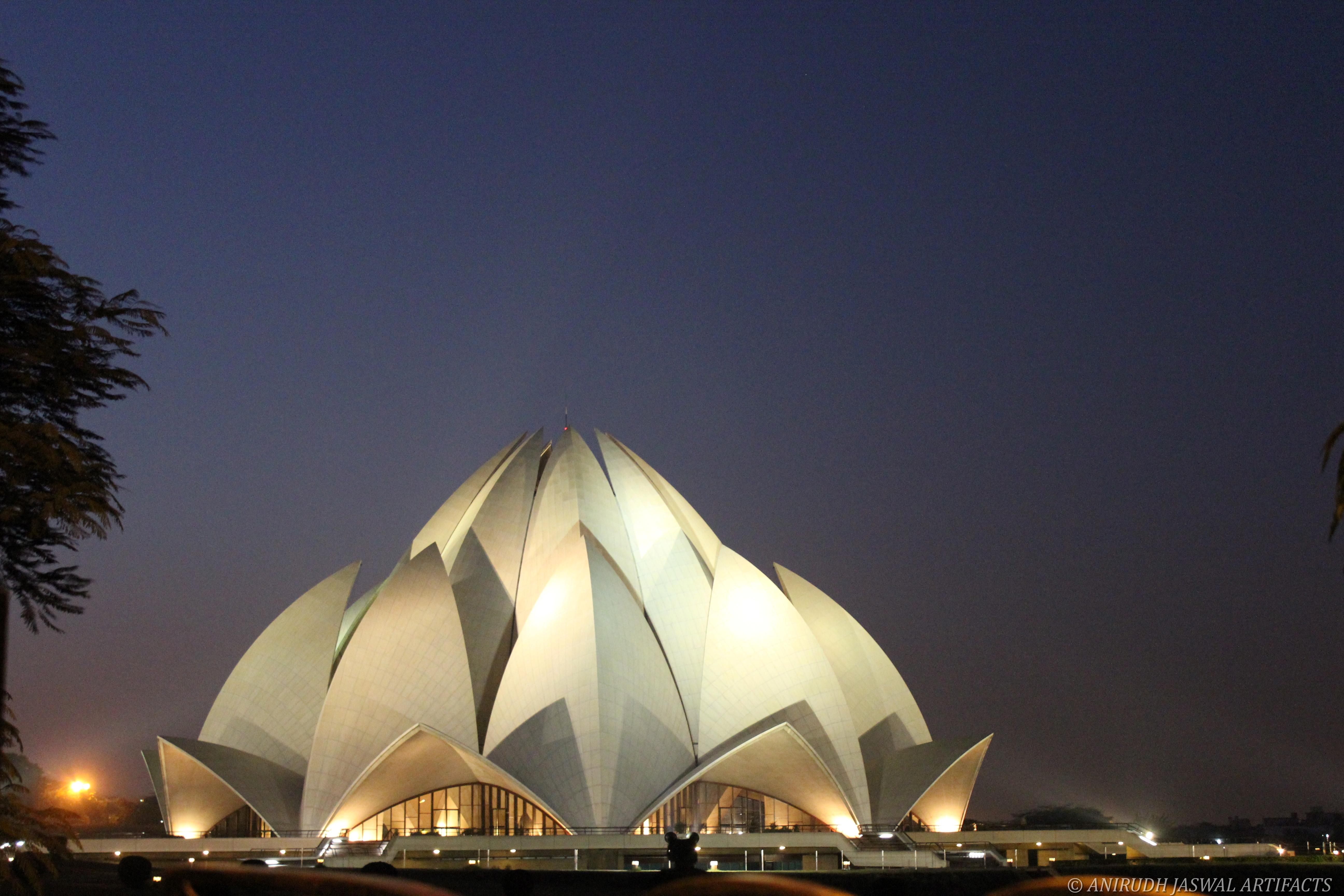 Incredible India BAHAI TEMPLE Desktop and mobile wallpaper 5184x3456
