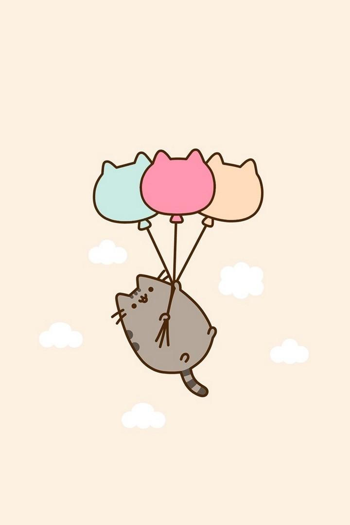 Cute Pusheen Cat wallpaper HD for Android   APK Download 720x1080