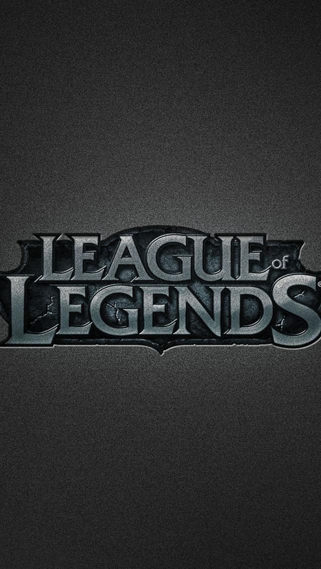League of Legends Logo Wallpaper - WallpaperSafari
