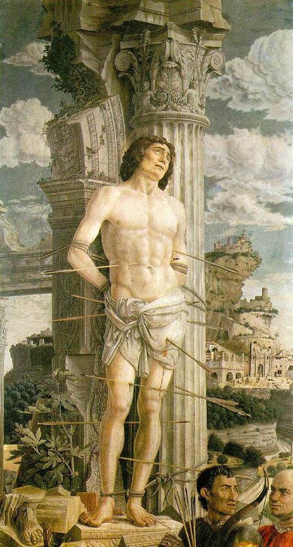 italian renaissance andrea mantegna art wallpaper picture 579x1080