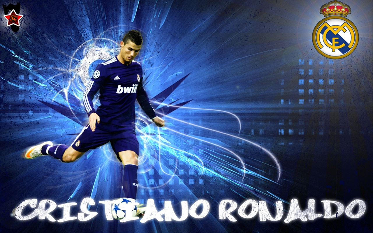 Ronaldo real madrid wallpaper image size for your screen 1280x800
