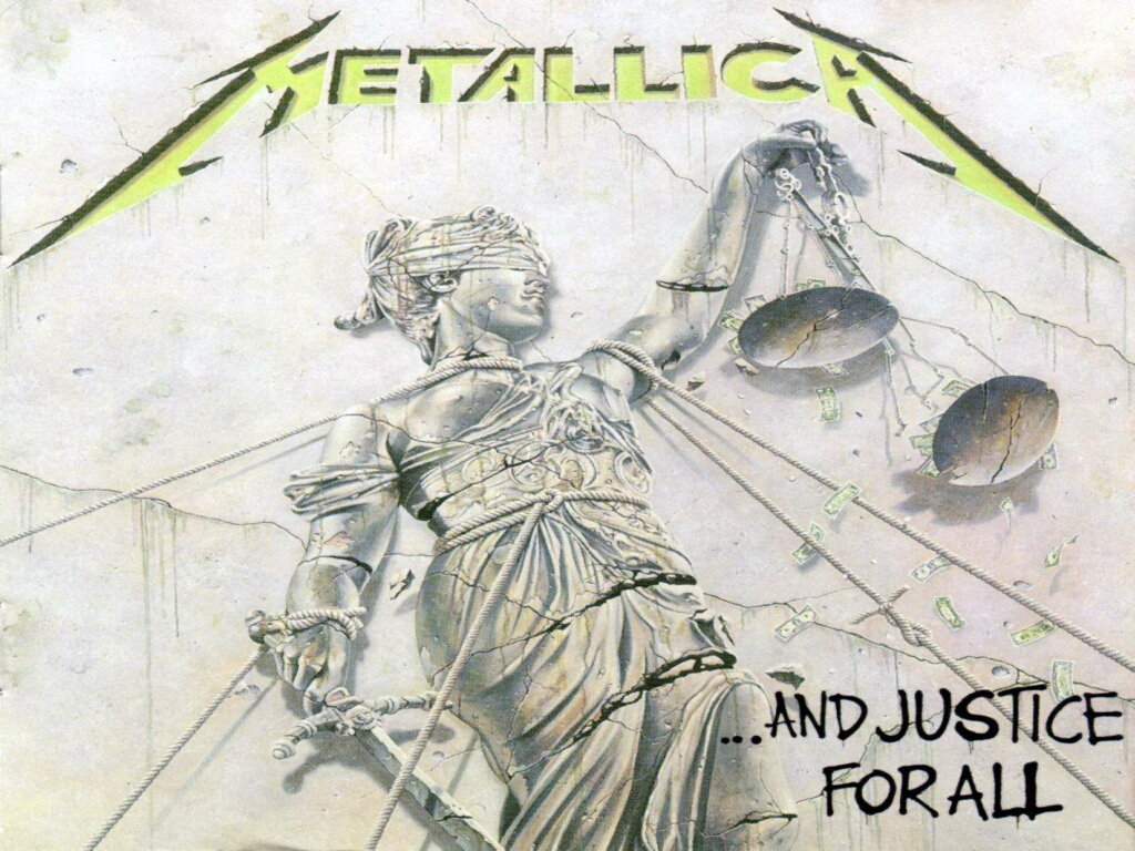 metallica and justice for all cover album wallpaper 1024x768