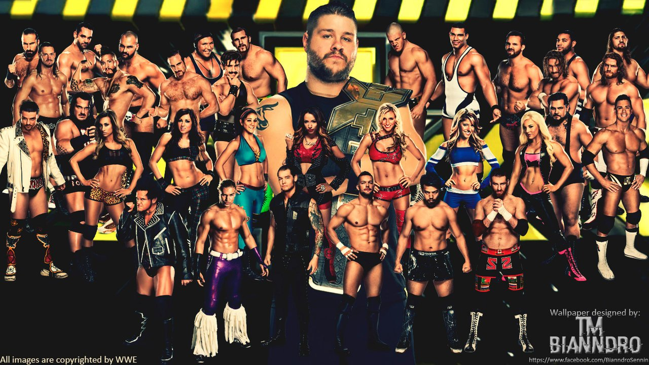 WWE NXT Wallpaper by TM Bianndro by naibafundead 1280x720