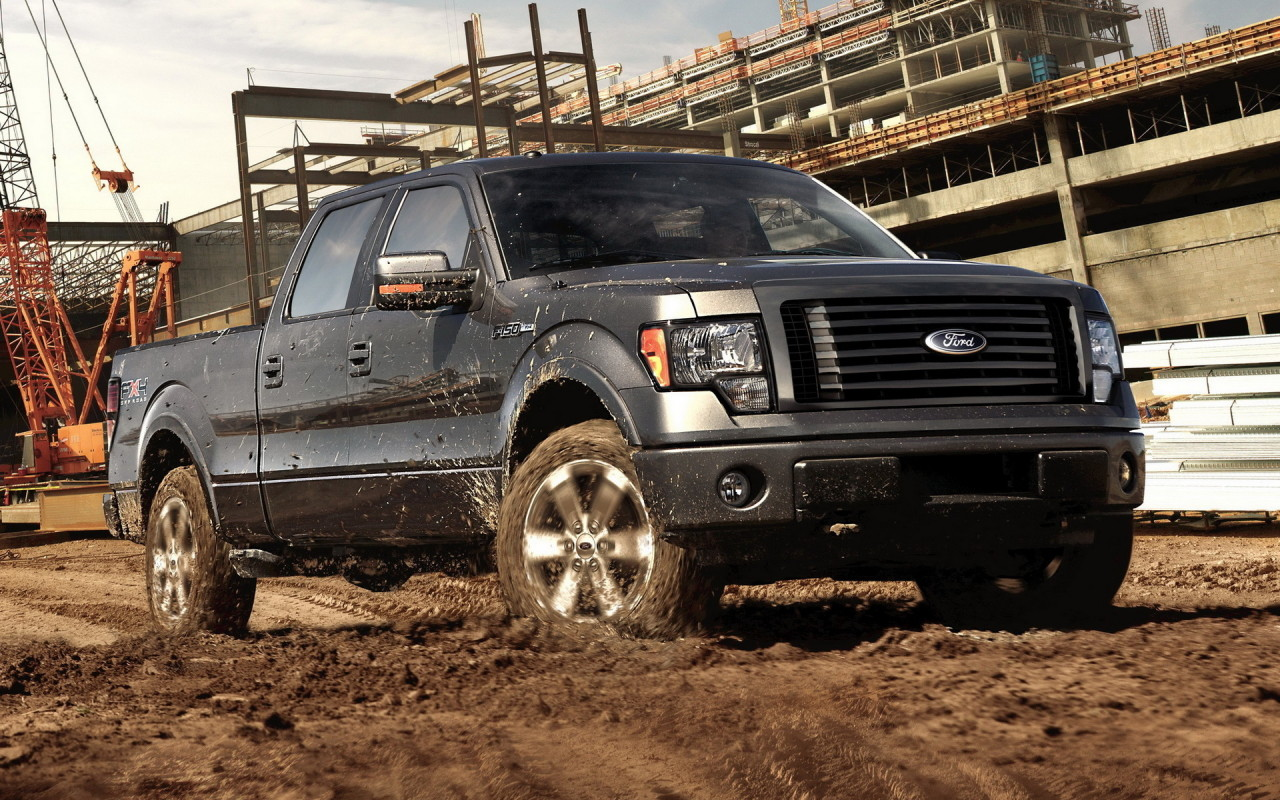 Ford F 150 Supercrew Desktop wallpapers 1280x800 1280x800