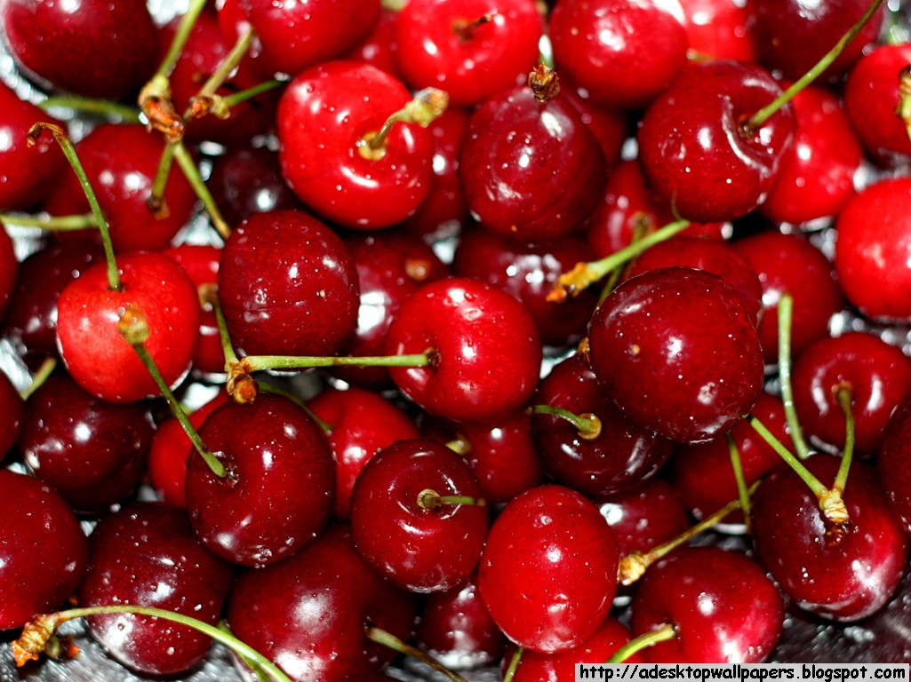 Cherries Fruit Desktop Wallpapers PC Wallpapers Wallpaper 1025x768