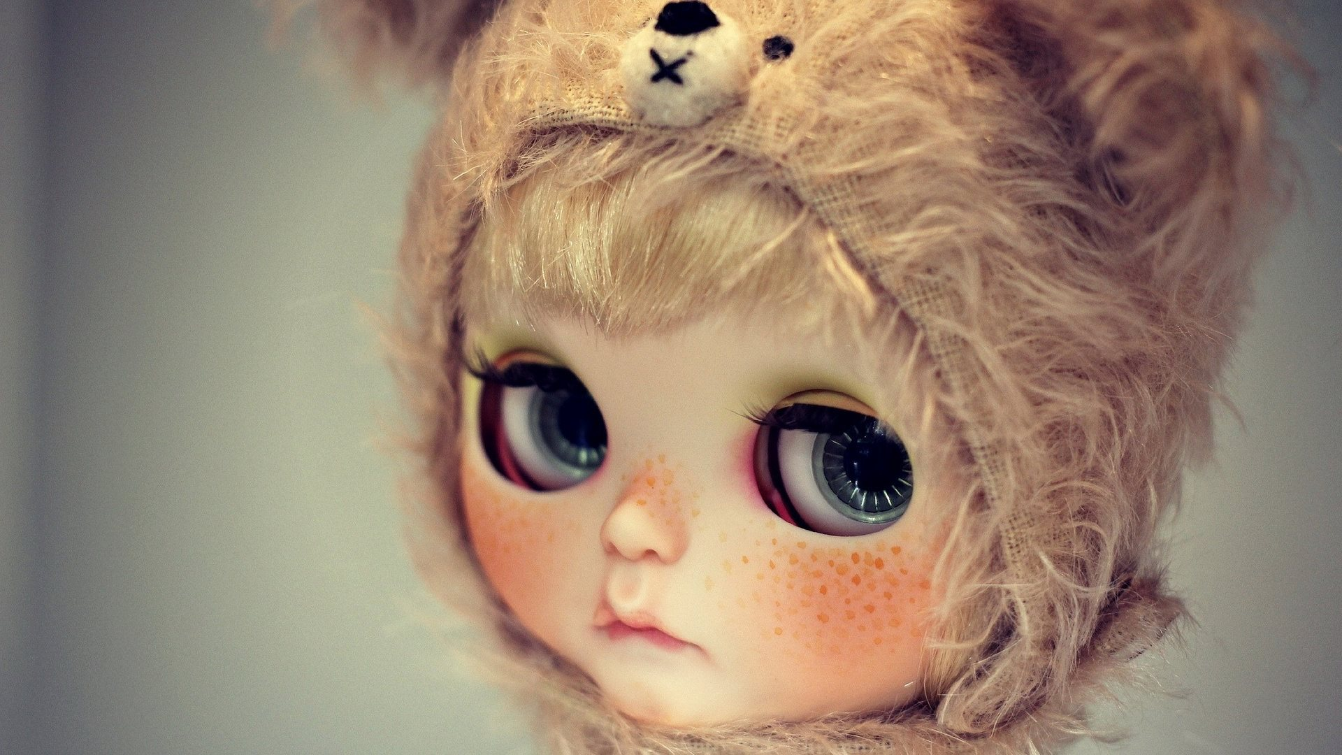Beautiful Eyes of Doll HD Wallpapers 1920x1080