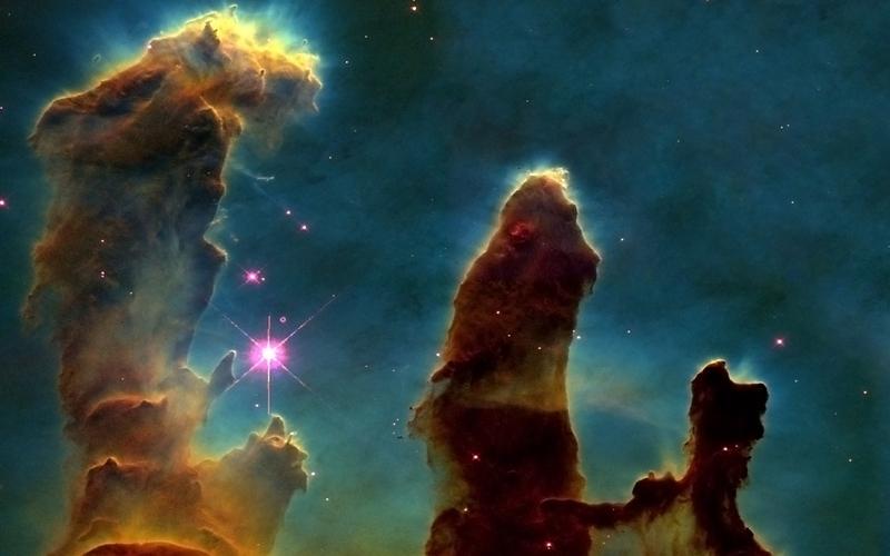 [49+] Hubble Pillars of Creation Wallpaper on WallpaperSafari