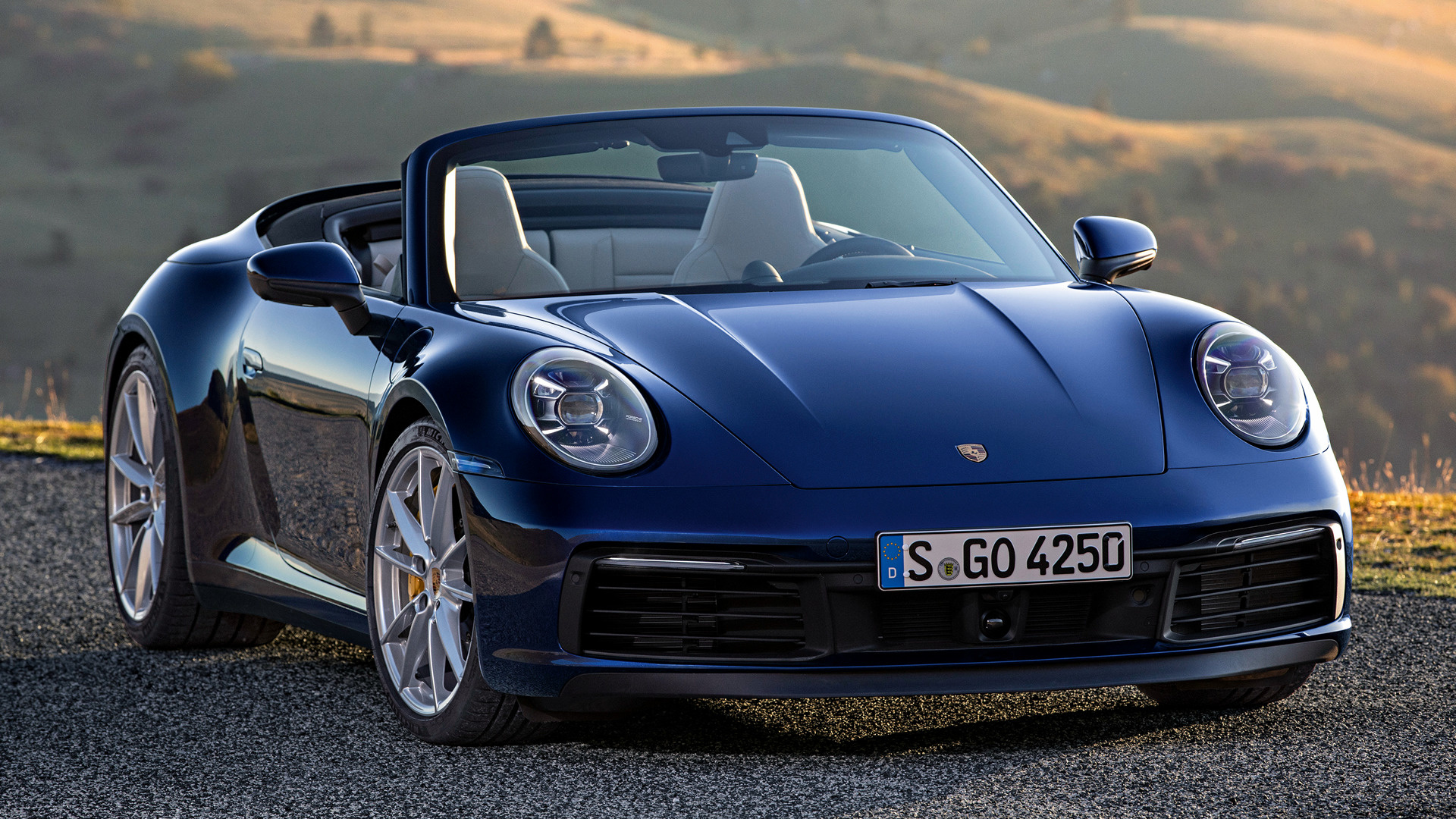2019 Porsche 911 Carrera S Cabriolet   Wallpapers and HD Images 1920x1080