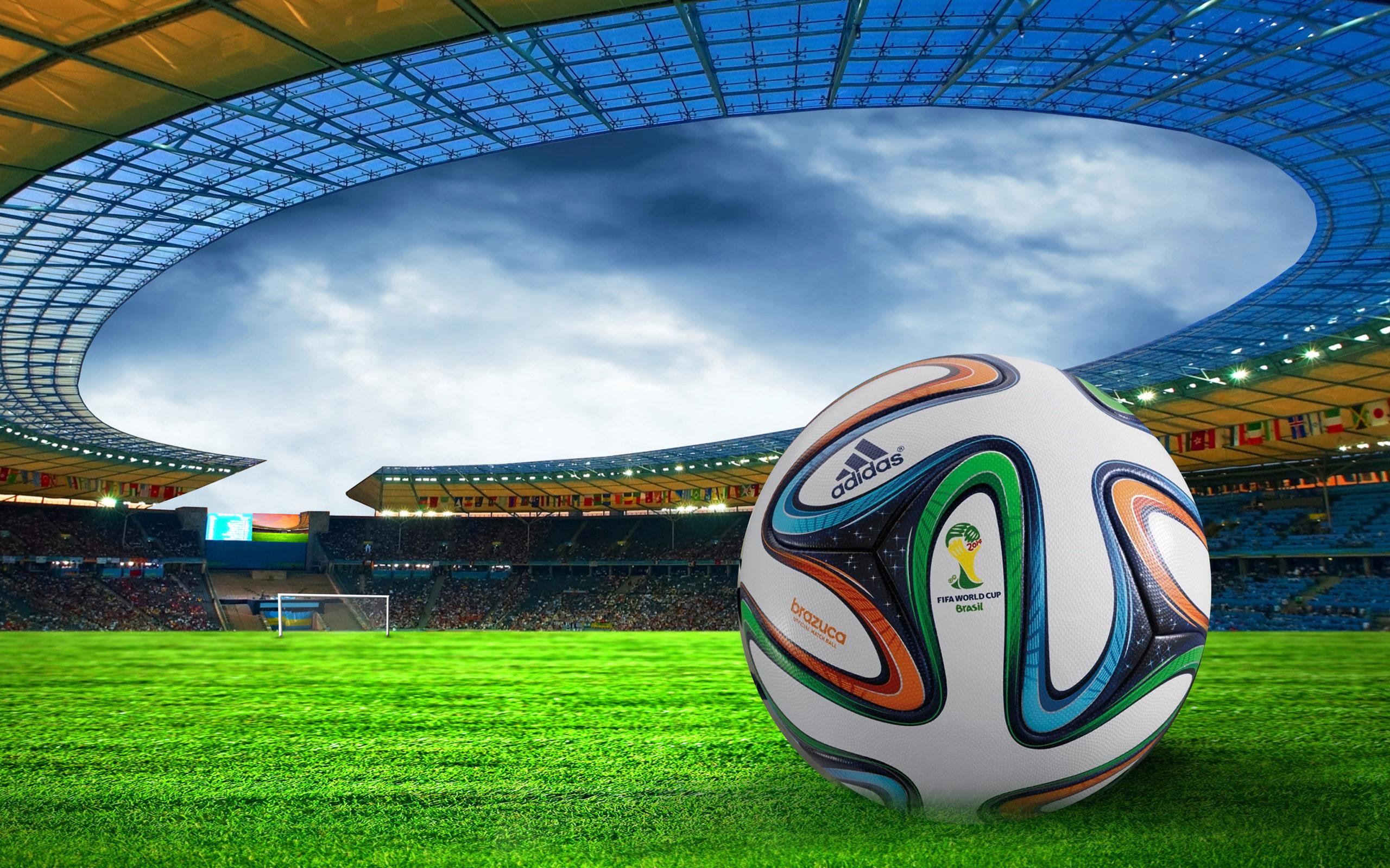 Fifa World Cup Brazil 2014 Football Wallpaper Desktop Backgrounds 2560x1600