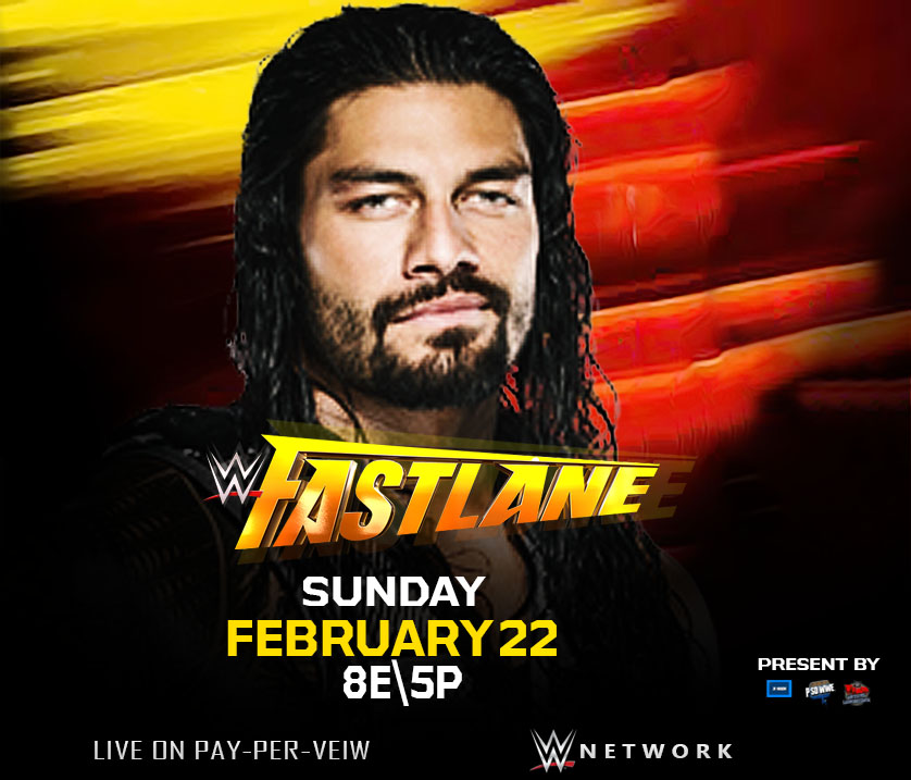 Wwe Fast Lane Poster Office by mostafa15 838x717