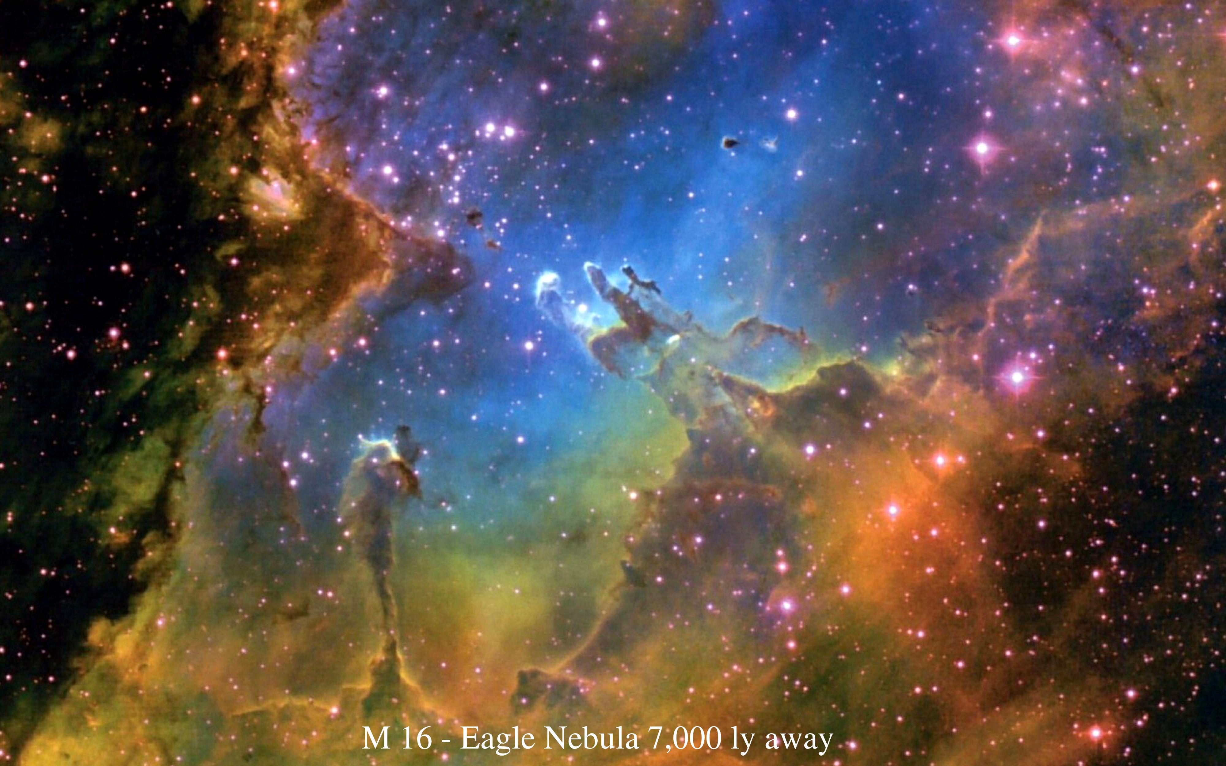 Hubble Nebula Wallpaper   Pics about space 4000x2500