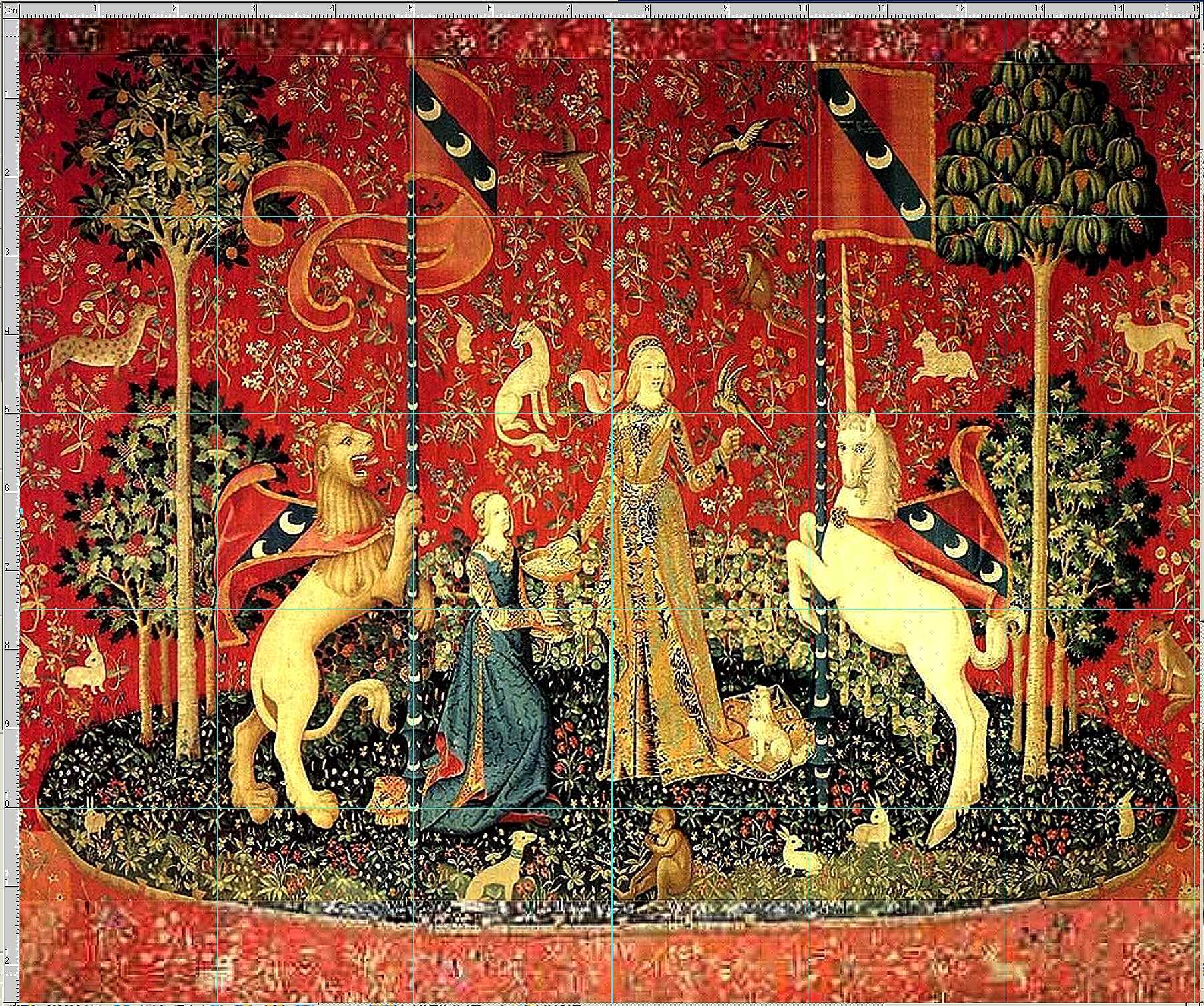 Unicorn Tapestry Wallpaper