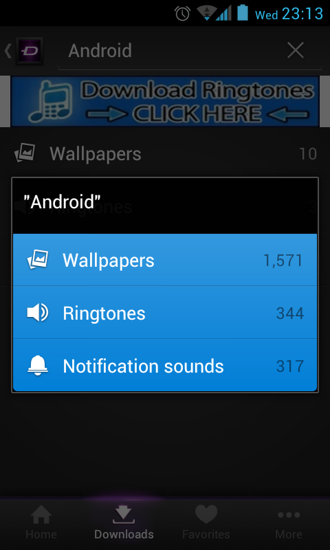 Zedge   Search results   AndroidTapp 480x800