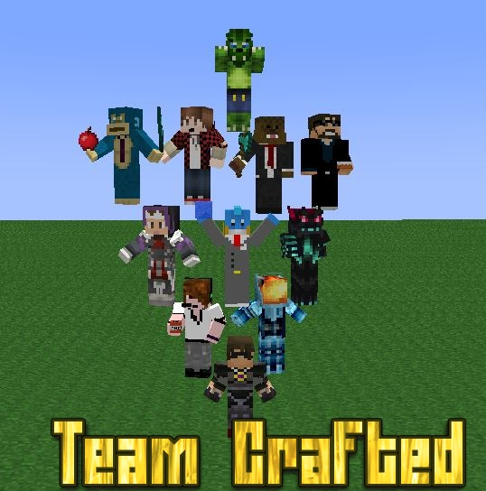Team Crafted Mine imator by Mario28037 538x544