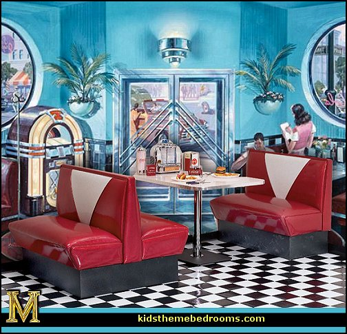 50 Dining Room Decorating Ideas And Pictures: [46+] 50S Diner Wallpaper On WallpaperSafari