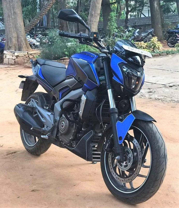 New Bajaj Dominar 400cc Model Photos Wallpaper2018 691x800