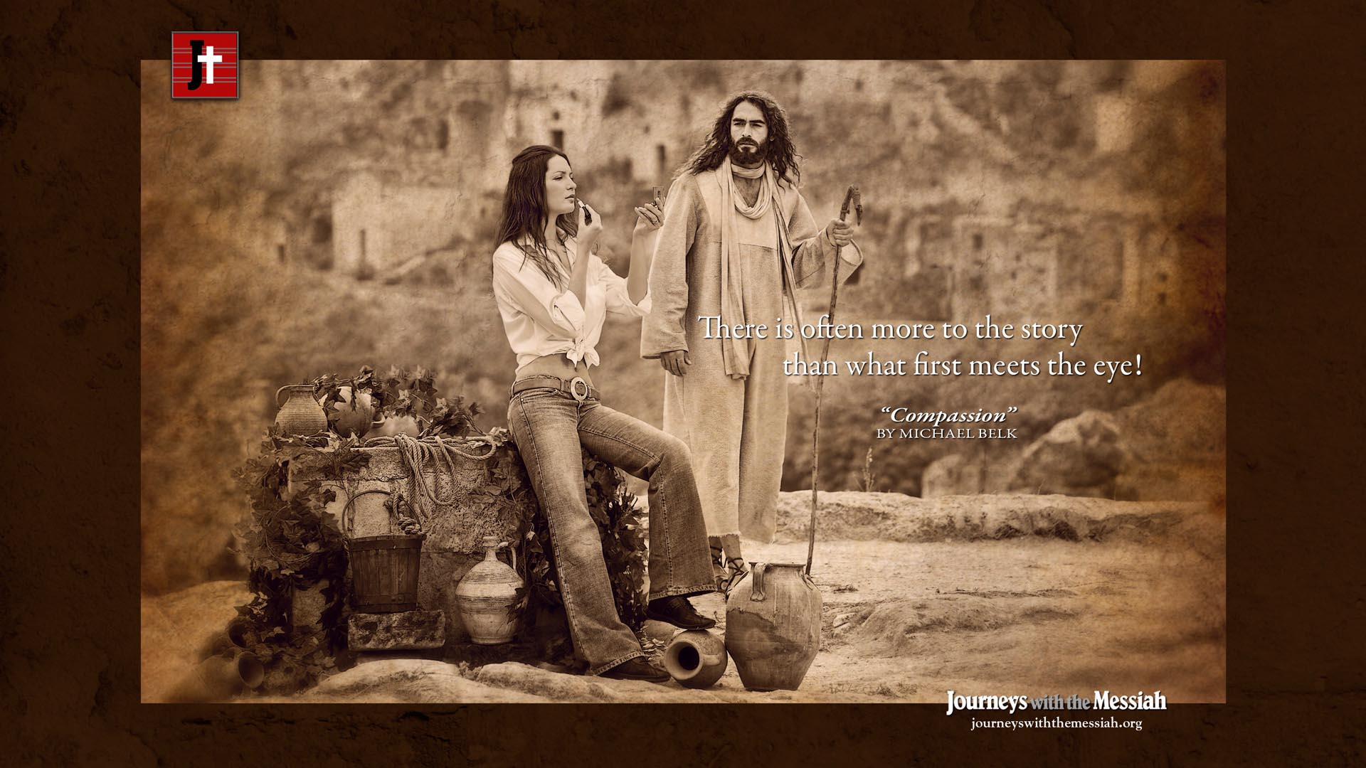 Compassion Wallpaper Journeys with the Messiah Images to 1920x1080