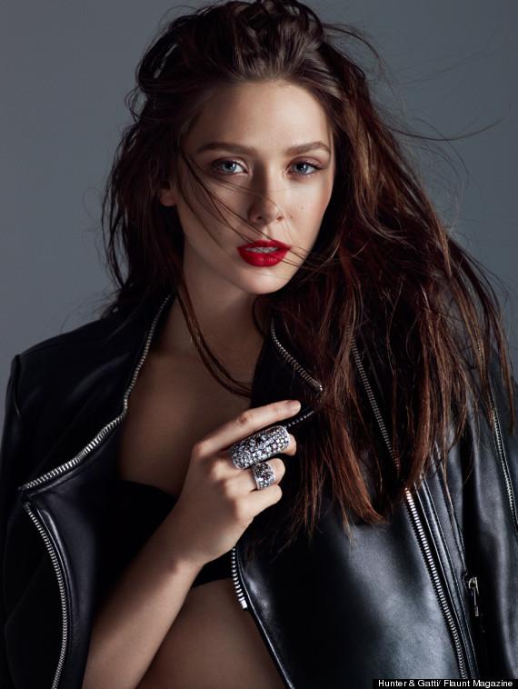 Elizabeth Olsen Smolders In Flaunt Magazine Spread HuffPost 570x758