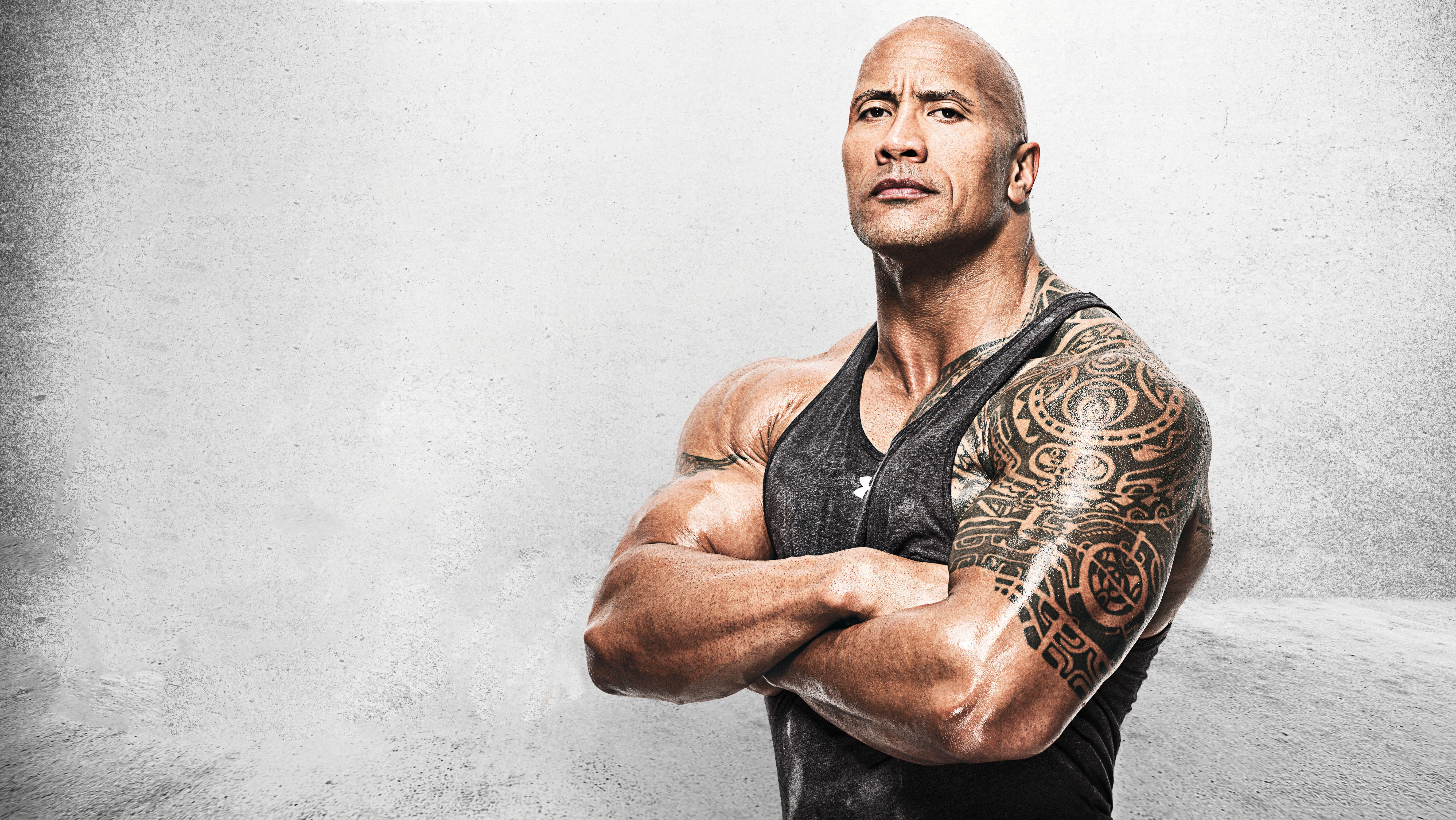 Dwayne Johnson Hollywood Actor 5K Wallpapers HD Wallpapers 6198x3491