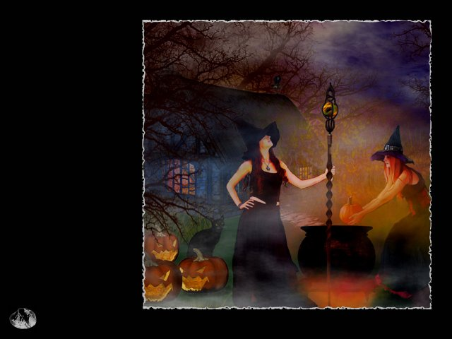 Halloween Witches Wallpaper