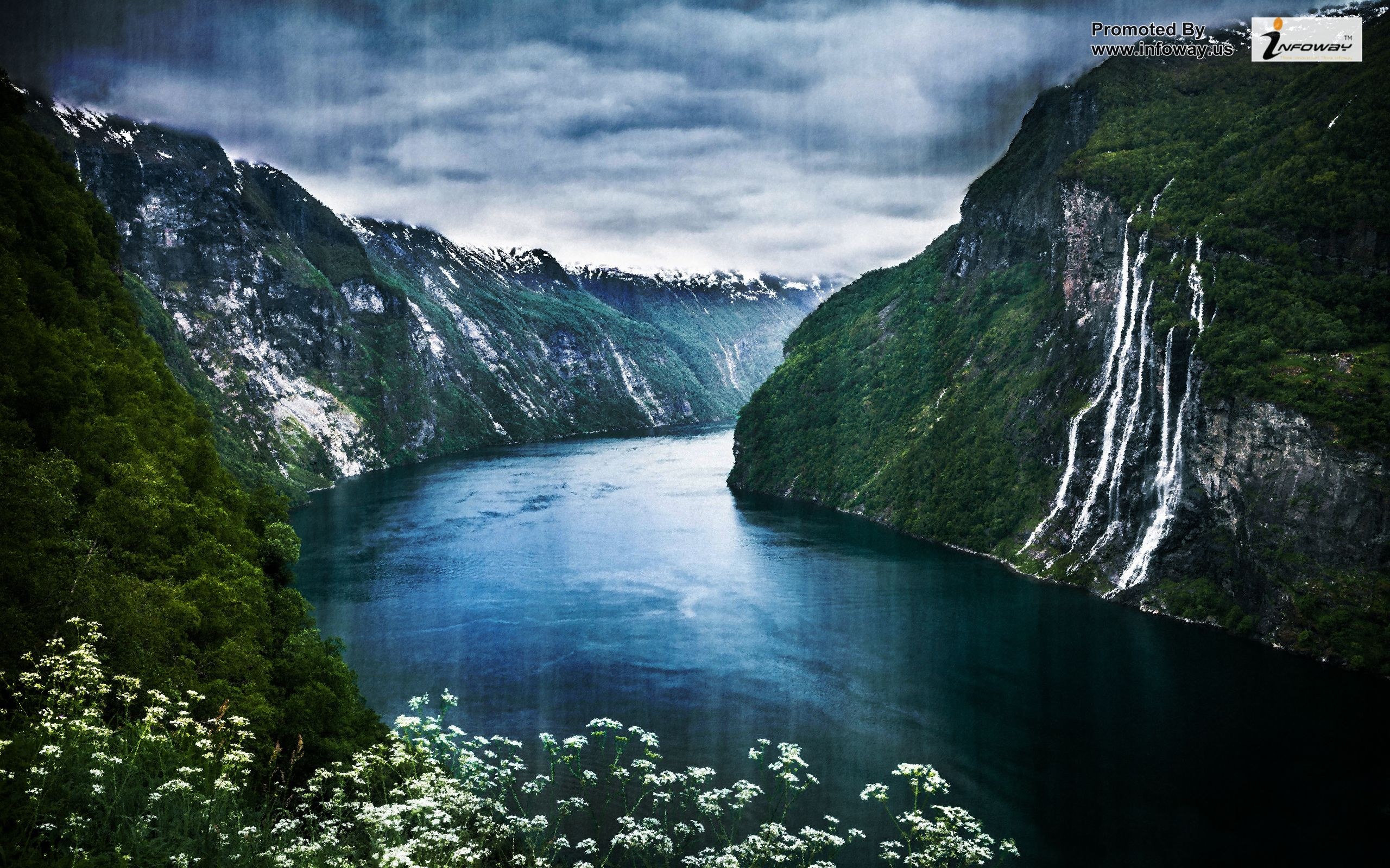 Free Download Beautiful Scenery Of Norway Geiranger Fjord