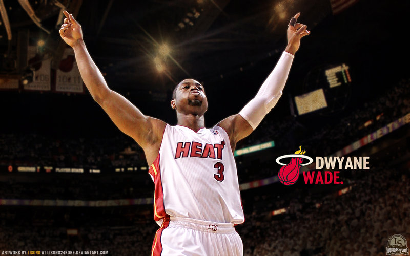 Dwyane Wade Wallpaper by lisong24kobe 800x500