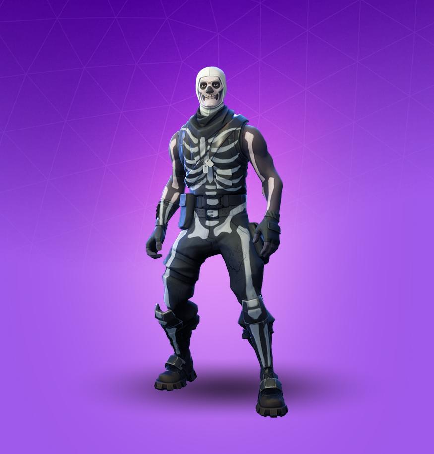Fortnite Skull Trooper Skin   Pro Game Guides 875x915
